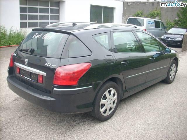 Установка сигнализаций SCHER-KHAN.  Peugeot 407... универсал. маленькие фото.  1.6 турбодизель. механика.